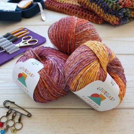 Verbena (algodón, viscosa y lino) Rosas Crafts