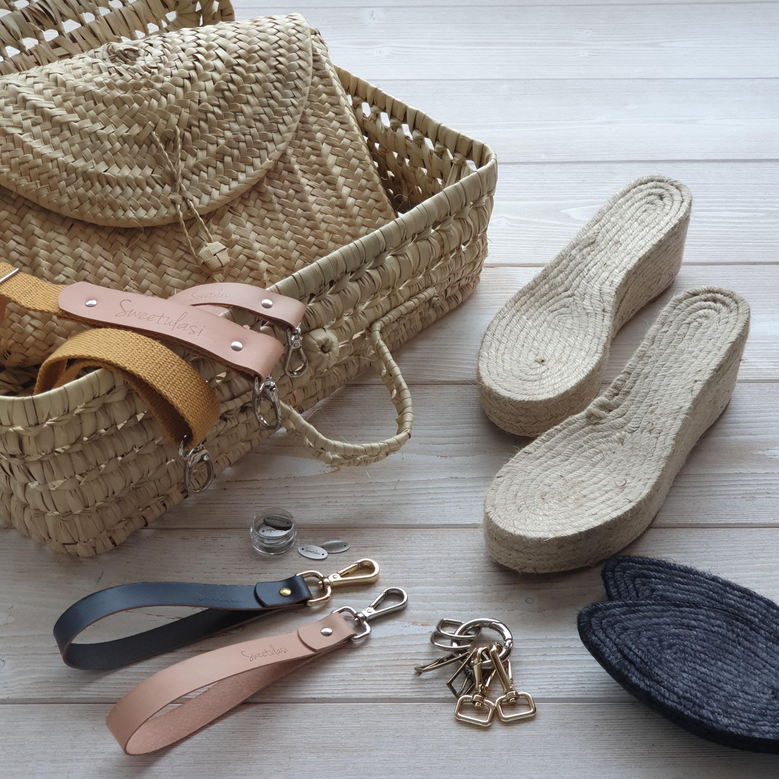 Cestos, Bolsos y calzado
