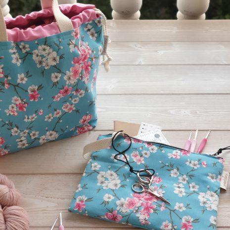 Bolsas Proyectos y Estuches Colección Flores